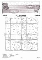 Ayr Township, Thirty-Two Mile Creek, Crystal Lake, Directory Map, Adams County 2007